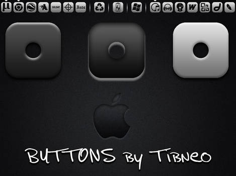 Button Icons - Tibneo