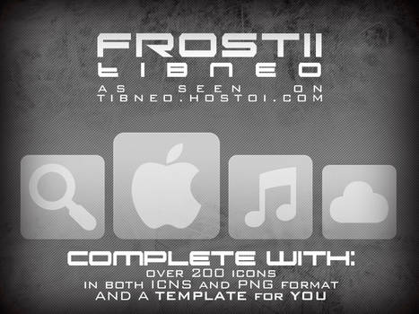 Frost II Icons by Tibneo