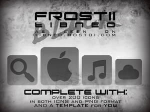 Frost II [BLACK] Icons by Tibneo