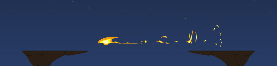 Fireball hit