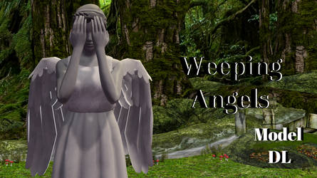 [MMD] Weeping Angels [DL] by CamiSergianni