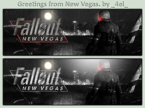 Greetings from New Vegas.