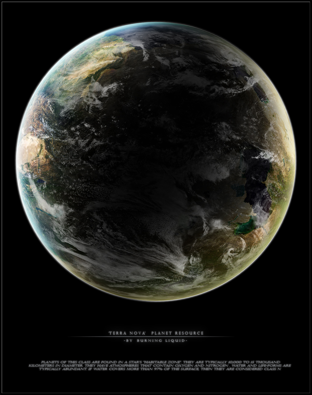 'Terra Nova'   Planet Resource