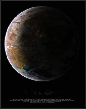 K class planet - Adaptable