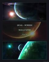 Dual-screen Wallpaper pack by Burning-Liquid