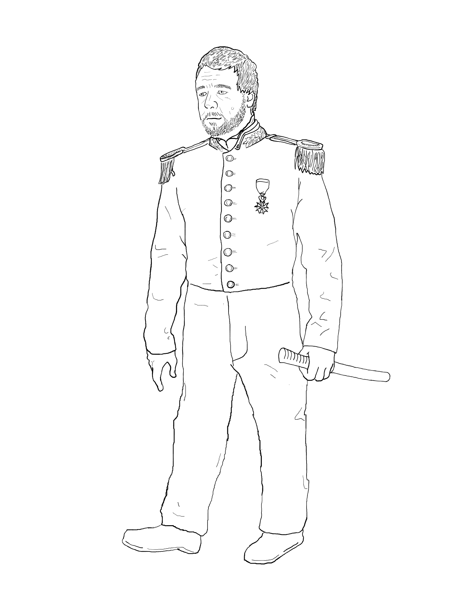 LesMisExtended Visual Petition - Javert