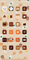 Autumn Themed Phone Icons