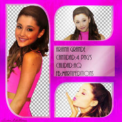 Ariana       Pack png by MyHeartFlies