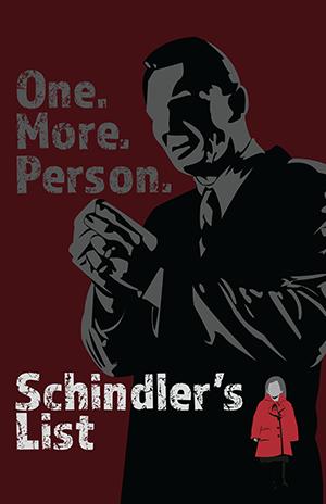 FauxPosterAssignment-Schindler's List (Minimalist) by FantasyFinale12