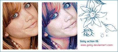 Photoshop actions by golzy