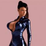 Nikki Latex  -  1 by Fab3DX