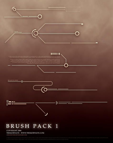 PS: Brush Pack 1 by tremorwave