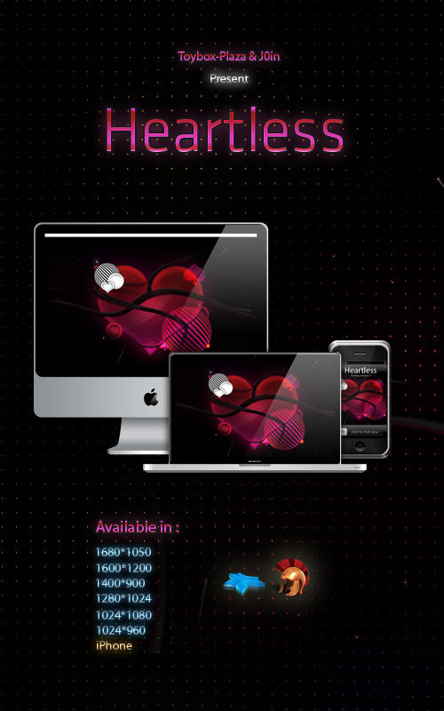 Heartless - Wallpapers by TOYBOX-plaza
