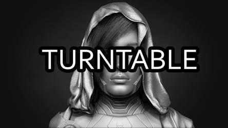 HitGirl (3D Highpoly turntable) by Phantasis