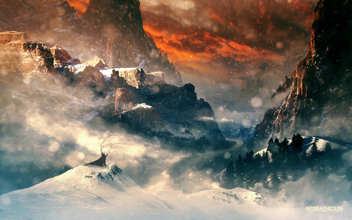 Three Mountains by TobiasRoetsch