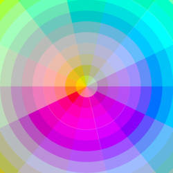 Radial Colors