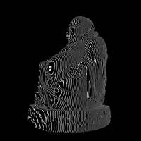 Bouddha Facing Cut Vibrations