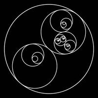 Animated Recursive Yin-Yang