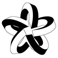 Five Star Moebius Knot