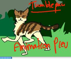 Tumblepaw tumbling down by dandypandy12