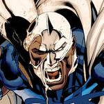 Coloring Blue Marvel -Part 1