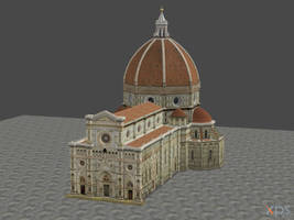 XNALARA XPS Model Release!!! El Duomo by Fuzzy-Moose