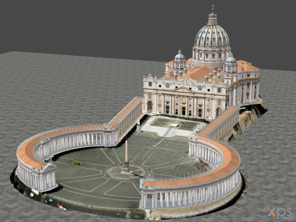XNALARA XPS Model Release! Saint Peters Cathedral by Fuzzy-Moose