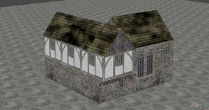 XNALARA XPS Model Release!! Medieval House by Fuzzy-Moose