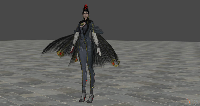 XNALARA Model Release! Bayonetta (Sexy) by Merytaten-tasherit