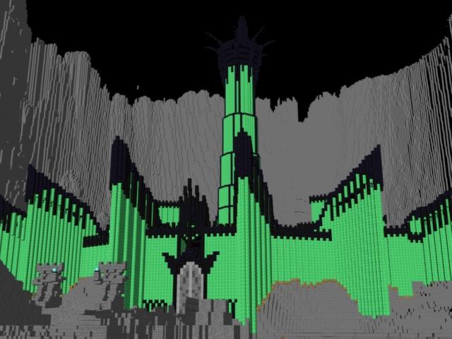 Minecraft Release! Minas Morgul (Minecraft) by Merytaten-tasherit on ...: merytaten-tasherit.deviantart.com/art/Minecraft-Release-Minas...