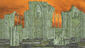 Gothic Ruins Scenery for XPS by Fuzzy-Moose