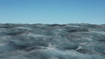 Ocean Surface Scenery for XPS by Fuzzy-Moose