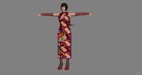 Tekken 7 - Anna Williams 2P For XPS