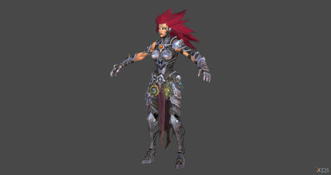 Darksiders 3 - Fury for XPS by Fuzzy-Moose
