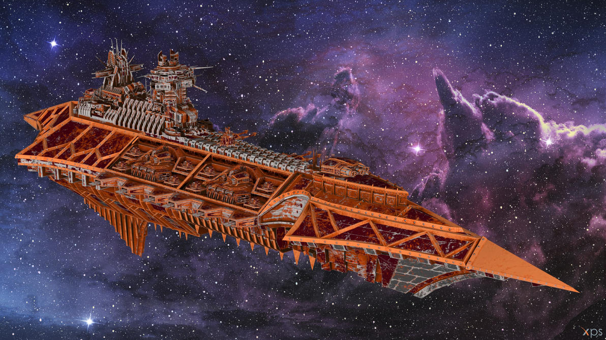 BFG Armada 2 - Slaughter Class Cruiser for XPS by Fuzzy-Moose