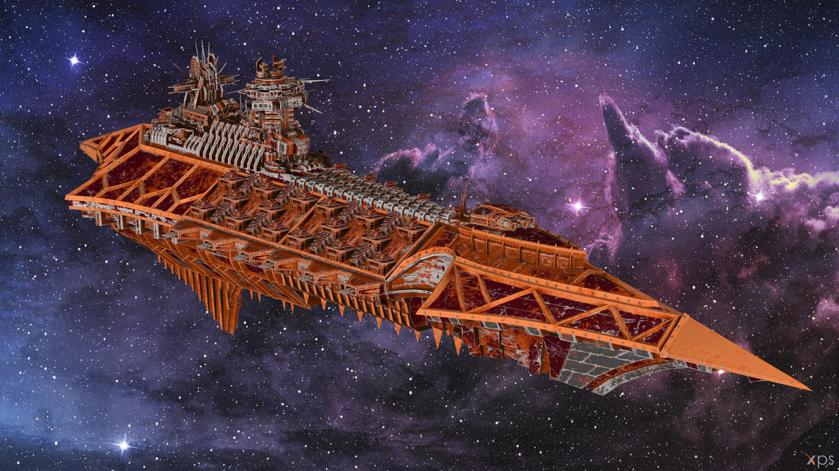 BFG Armada 2 - Carnage Class Cruiser for XPS by Fuzzy-Moose