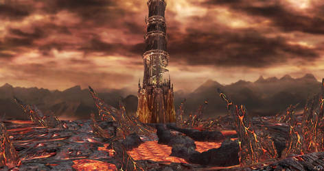 Soul Calibur IV - Inferno Stage for XPS by Fuzzy-Moose
