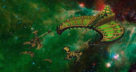 XPS Release - BFG: Leviathan - Necron Fleet