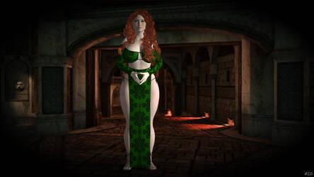 Caoimhe, the Celtic Warrior-woman