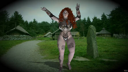 Astrid the Norse Shaman for XPS