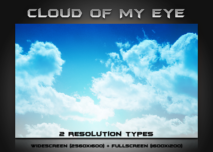 Cloud of My Eye by balderoine