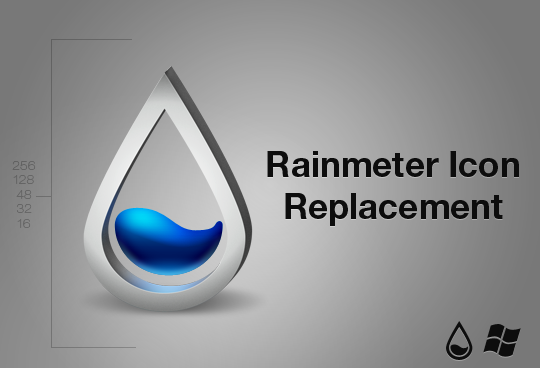Rainmeter ico by balderoine