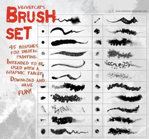 Velvetcat's Brush Set