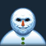 Snow Skull by DerKlox-Cloxboy