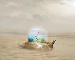 Snail_Wallpaper by velendil