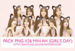 Pack PNG #26 MinAh (Girl's Day)