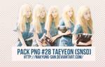 Pack PNG #28 TaeYeon (SNSD)