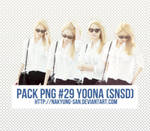 Pack PNG #29 Yoona (SNSD)