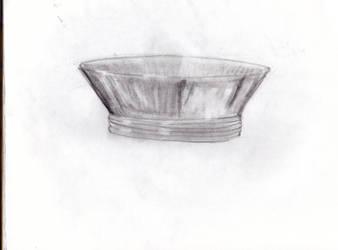 ART 101 metal dish