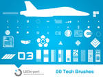 50 Tech Brushes